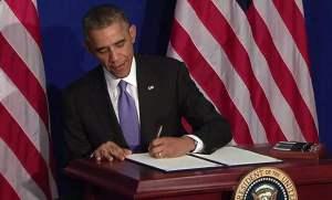 President Obama Signature